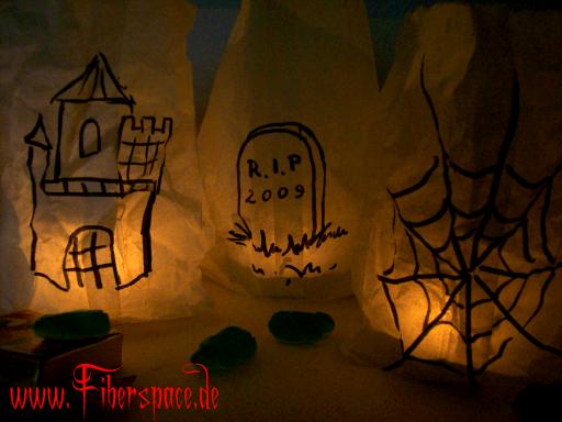halloween tüten zum selber basteln