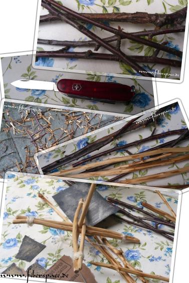 Tutorial: How to make a turkish spindle / Bauanleitung für eine Kreuzspindel