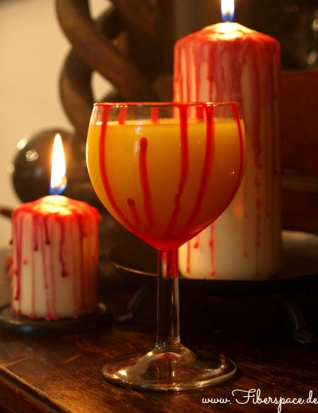 Blutkelch für Halloween