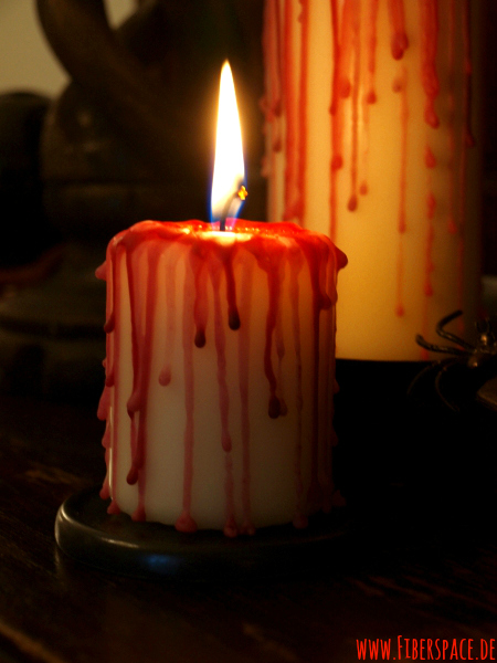 Tutorial Blood Candles