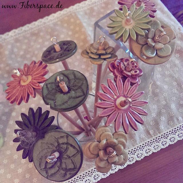 Blumenstrauß aus Ton
