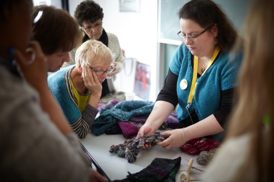 Workshop Handspinnen Berlin